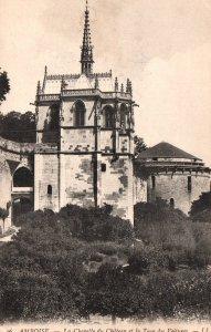 La Chapelle du Chateau et la Tour des Voitures,Amboise,France BIN