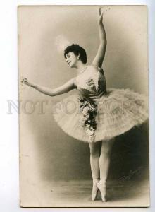 243124 Mathilde KSCHESSINSKA Russian BALLET Dancer PHOTO old