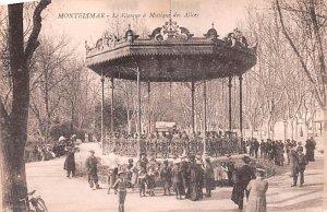 Le Kiosque a Musique des Allies Montelimar France Unused