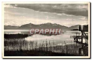 Postcard Old Seebruck has Chiemsee