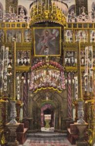 Jerusalem Saint Sepulere Holy Sepulchre Church Interior