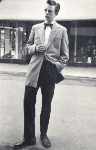 Nostalgia Postcard Teddy Boy 1954 Mens Dress Fashion 1950s Repro Card NS20