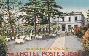 MILANO , Italy , 00-10s ; Giardino-Terrazza , Dell'HOTEL POSTE SUISSE