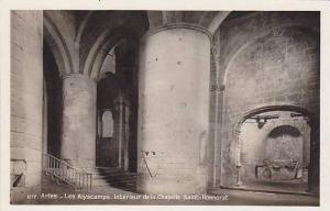 RP, Les Alyscamps, Interieur De La Chapelle Saint-Honnorat, Arles (Bouches du...