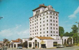 Exterior,  The Palm Crest Hotel,  Haines City,  Florida,  40-60s