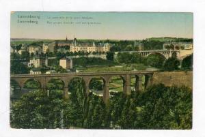 LUXEMBURG, Bridge, 00-10s  Le Paserelle et le pont Adolphe