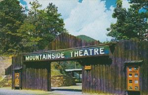 North Carolina Cherokee Entrance To Moutainside Theatre