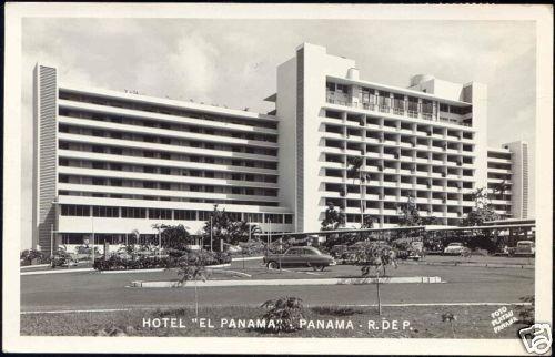 panama, Hotel El Panama (1952) RPPC