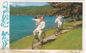 Canada Alberta Jasper Park LOdge Room Service