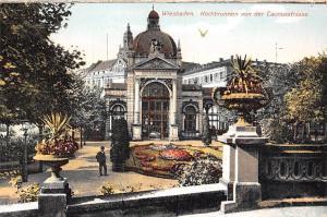 Wiesbaden Kochbrunnen von der Taunusstrasse