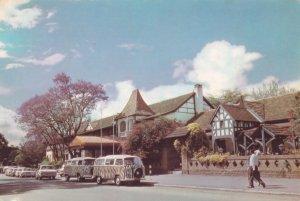 Norfolk Hotel Nairobi Zebra African Wildlife Vans 1970s Postcard