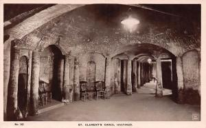 St Clement's Caves Interior Hastings