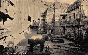 India Ellora Kallas Cave, important and proeminent Antique Series