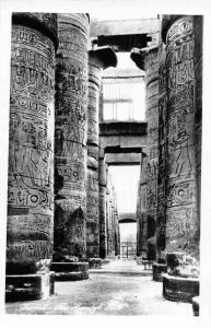 Egypt Karnak Pillars The Hypostyle Hall