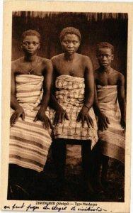 CPA AK Senegal-Ziguinchor-Type Mankagne (235361)