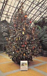 Christmas Trees Post Card Educational Christmas Tree Cincinnati, Ohio, USA Un...