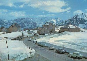 Hospice Gothard Switzerland in Winter 1980s Postcard