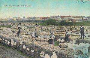 ELK CITY , Oklahoma, 1909 ; Cotton Yard