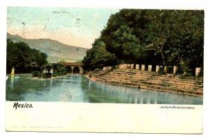 Mexico - Cuarnavaca. Jardin de Borda, Romantic Gardens