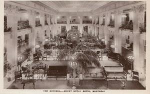 MONTREAL, Quebec, Canada, 10-20s; The Rotunda - Mount Royal Hotel