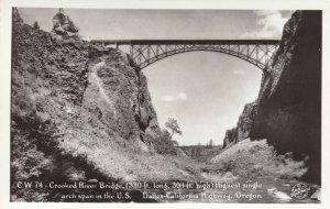 RP: DALLES-CALIFORNIA HIGHWAY, Oregon, 1920-40s; Crooked River Bridge