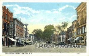 Main St. Concord NH Unused
