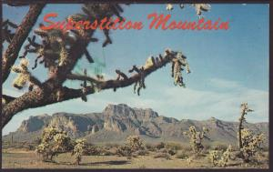 Superstition Mountain,AZ Postcard BIN