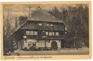 Karlsruhe, Germany, Schvarzvaldhaus in Stadtgarten, 1910s
