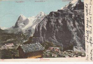 MURREN, Berne, Switzerland; 1903
