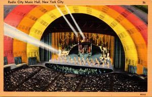 New York City Rockefeller Center Radio CIty Music Hall Interior