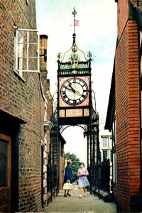 England Chester The Eastgate Clock 1992
