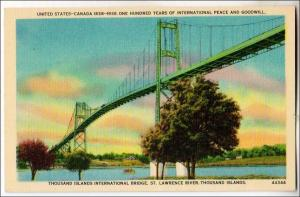 NY - Thousand Islands International Bridge