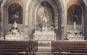 Interior , St Bernards Catholic Church , EASTON , Pennsylvania , 00-10s