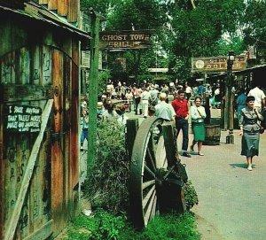 Los Angeles California CA Knotts Berry Farm Ghost Town UNP Vtg Chrome Postcard