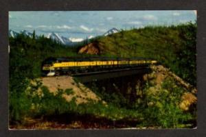 AK Aurora ALASKA Railroad Train SEWARD FAIRBANKS RR PC