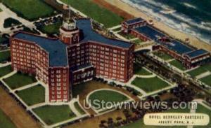Hotel Berkeley Carteret Asbury Park NJ Unused