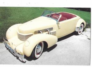 1937 Cord Phaeton Sedan 1st American Car Front Wheel Drive
