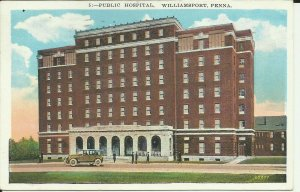 Williamsport, Penna, Public Hospital
