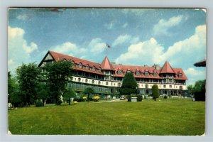 St Andrews- Canada, Algonquin Hotel, Summer Hotel, Chrome Postcard