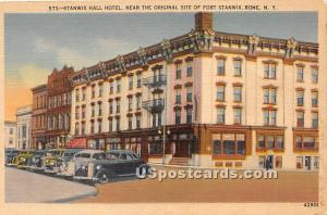 Stanwix Hall Hotel Rome NY 1943 Missing Stamp