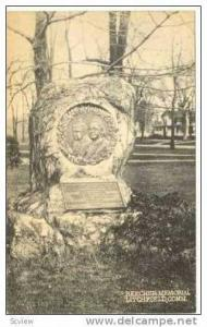 Beecher Monument, Lithchfield, Connecticut, 20-30s