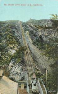 C-1910 Mount Lowe Incline Railroad California Rieder postcard 7755