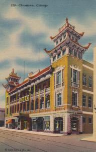 CHICAGO, Illinois, 30-40s; Chinatown