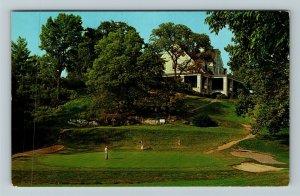 Hershey PA- Pennsylvania, Park Golf Course, Chrome Postcard