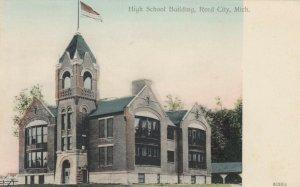 REED CITY , Michigan , 1901-07 ; High School Building