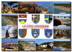 Modern Postcard The Picturesque Vendee La Cote Vendeenne