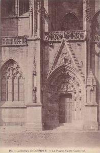 Le Porche Sainte-Catherine, Cathedrale De Quimper (Finistere), France, 1900-1...