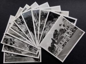 Channel Islands: JERSEY Collection of 12 Real Photograph Snaps by R.A.Postcards