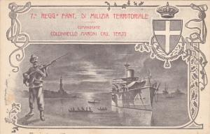7. Reggio Fant di Milizia Territoriale , Italy , 1904
