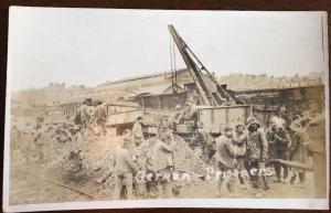 Real Photo Postcard WW1 German Prisoners Z22